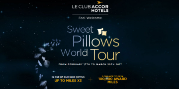 Accor Sweet Pillows World Tour