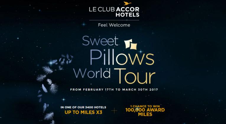 Accor Sweet Pillows World Tour