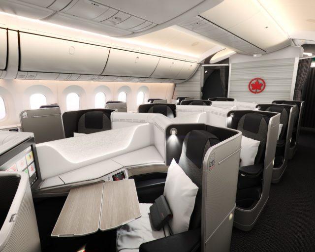 Air Canada 787 Dreamliner Business Class