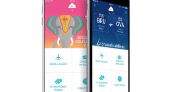 Brussels Airlines app