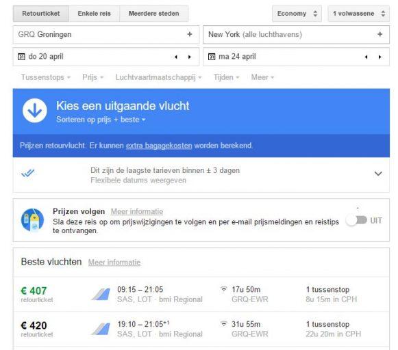 betaalbaar vliegen vanaf Eelde