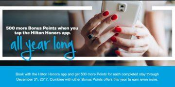 Hilton Bonus App 2017