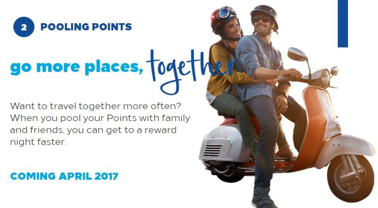 Hilton Honors - pooling points