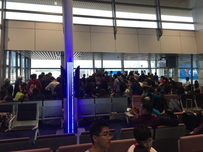 Boarding op Kuala Lumpur