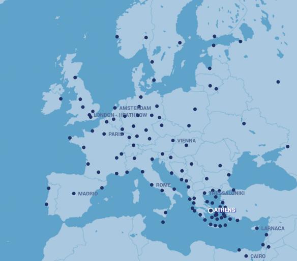 Routemap Aegean