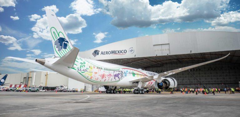 Aeromexico Boeing 787-