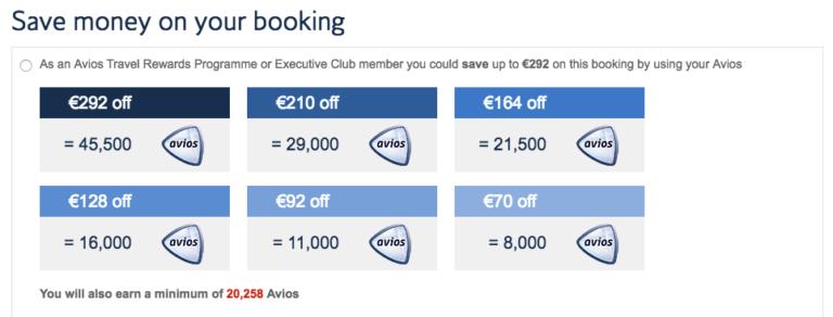 goedkope british airways business class
