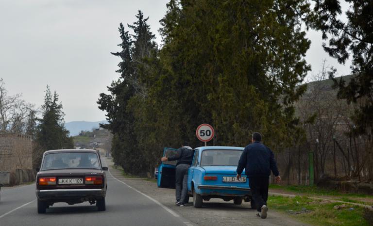 Tbilisi, Georgie, Kutaisi, stedentrip