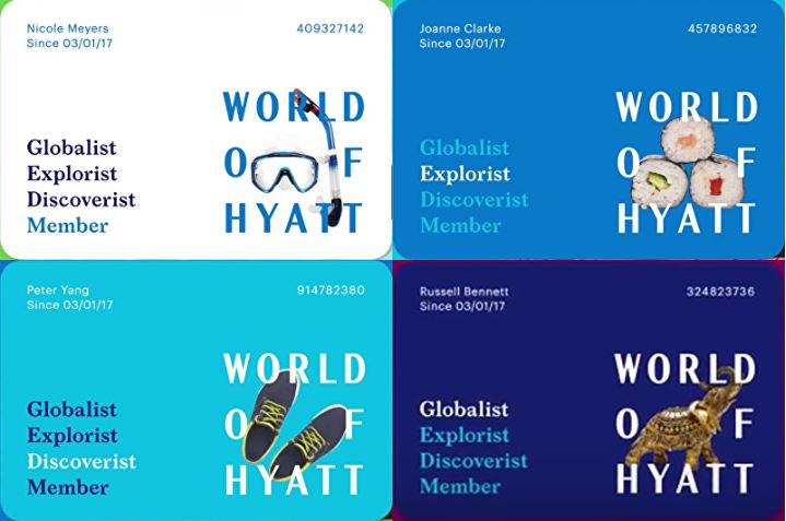 World of Hyatt, globalist, lifetime, elitestatus