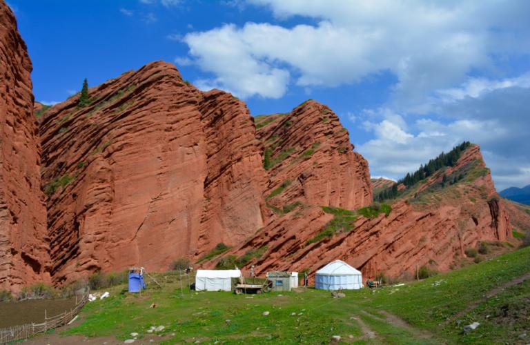 Kirgizië, Almaty, Kazachstan, Karakol