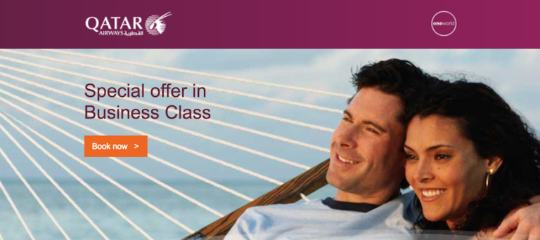 Qatar Airways Business Class Sale April 2017