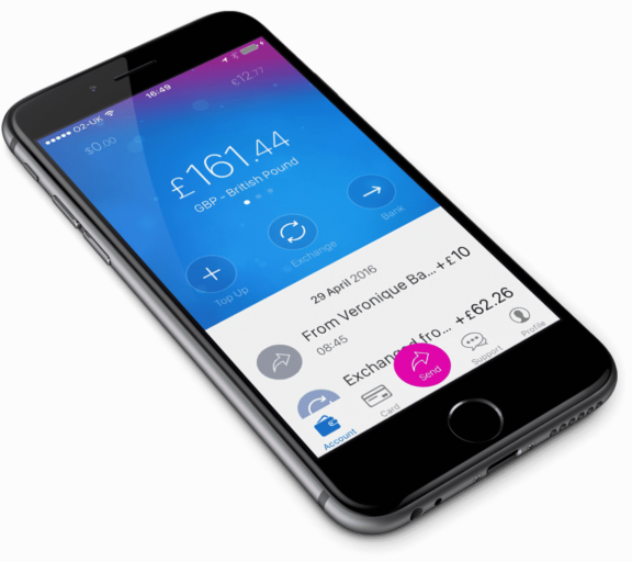 De Revolut Multi Currency App
