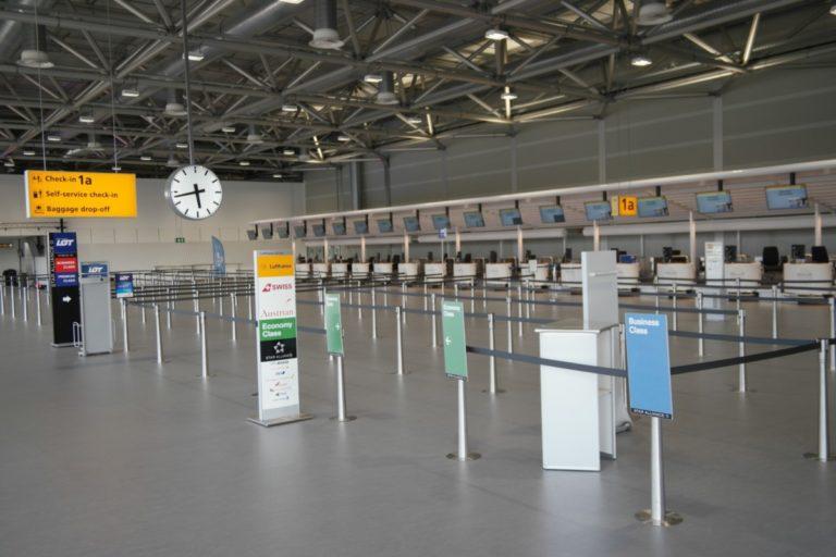 Nieuwe vertrekhal 1a Schiphol
