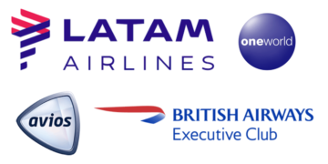 avios, british airways, ba, executive club, Amerika, Zuid-Amerika