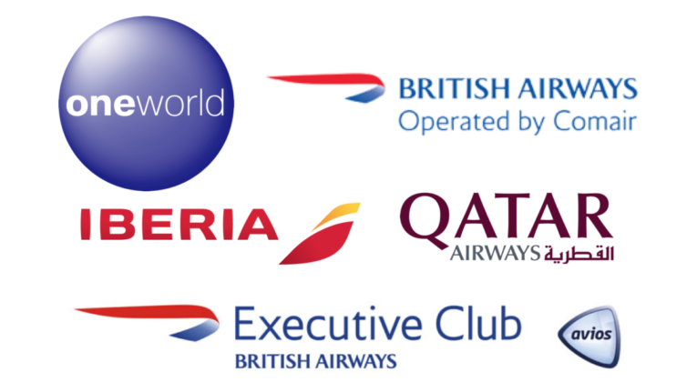 BA, Iberia, Qatar Airways, Oneworld, British Airways, Comair, Executive Club, Avios