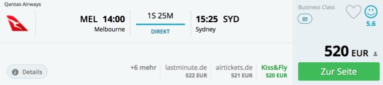 Sydney, Melbourne, BA, avios