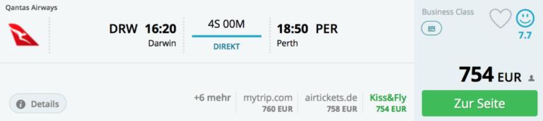 Melbourne, Sydney, Darwin, Perth, BA avios
