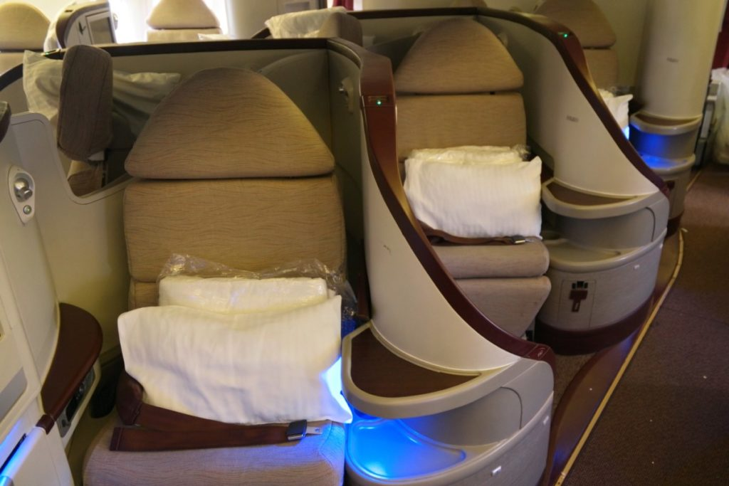 Jet Airways Business Class Premiere