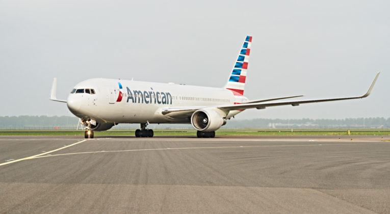 American Airlines 767 Amsterdam Dallas