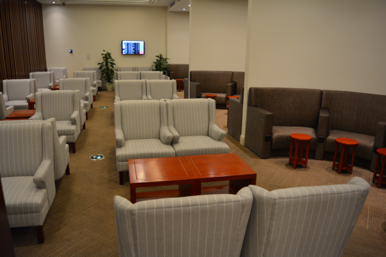 Japan Airlines, Air France, lounge, review, Shanghai, lounge 39