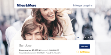 Miles & More Mileage Bargains
