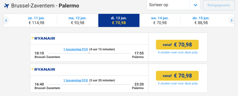 Ryanair, connecting flights, Rome