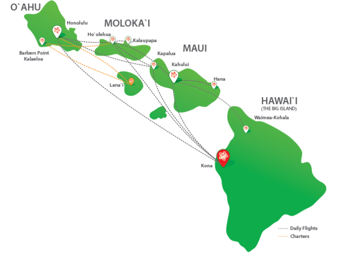 Hawaii, inter island flights, tips, Hawaiian Airlines, Mokulele Airlines, Island Air