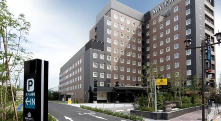 Tokyo, Japan, APA Hotel Tokyo Shiomi