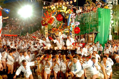 Fukuoka, Japan, Dontaku Festival