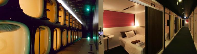 Japan, cabine, capsule, hotel, fukuoka, review