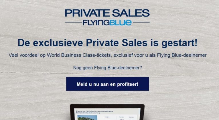 Flying Blue Private Sale