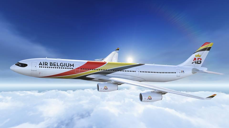 Airbus A340-300 van Air Belgium (Bron: Air Belgium)