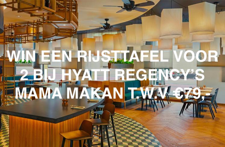 contest win een diner voor 2 hyatt regency's mama makan