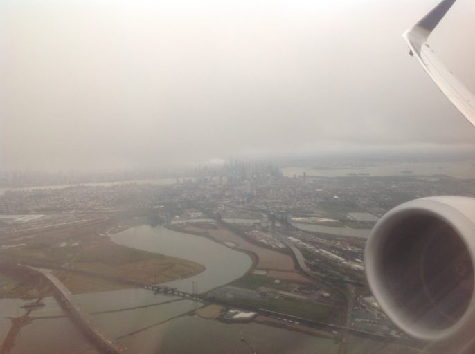Newark, Opstijgen met bevolking, United Airlines