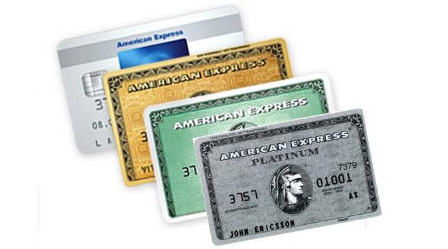 American Express sparen kaart