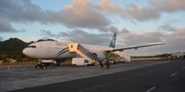 Air New Zealand, Premium Economy, Review, Boeing 777, Boeing 777-200, Auckland, Rarotonga
