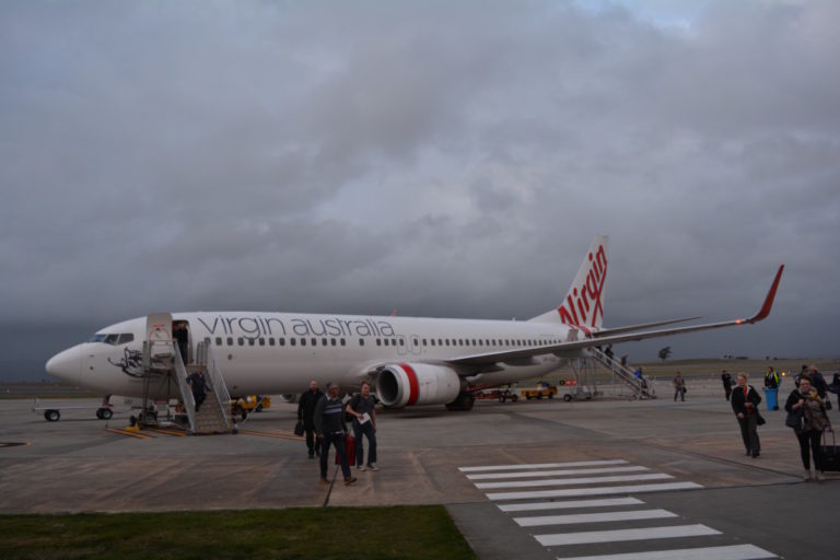 Sydney, Launceston, Virgin Australia, Review, Economy Class