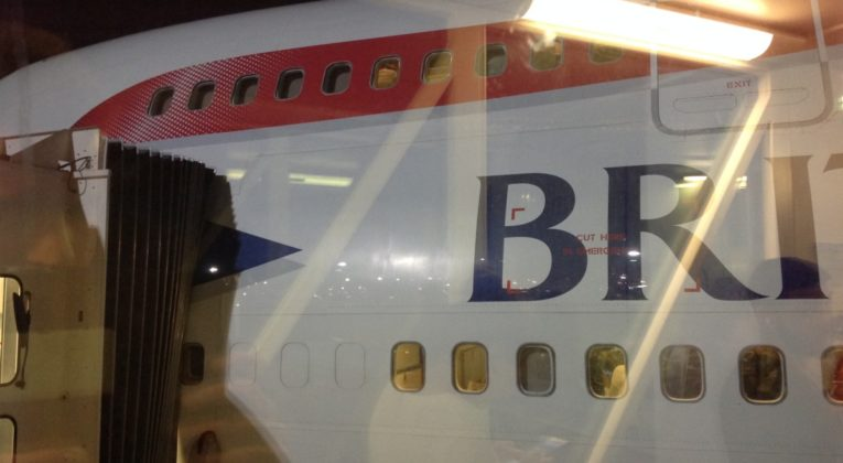 British Airways, Boeing 747, World Traveller Plus, Dubai, Londen-Heatrow, Oneworld