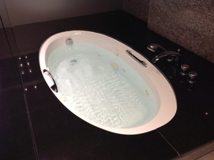 Jaccuzi, Hilton, Dubai, Upgrade, Hilton Diamond