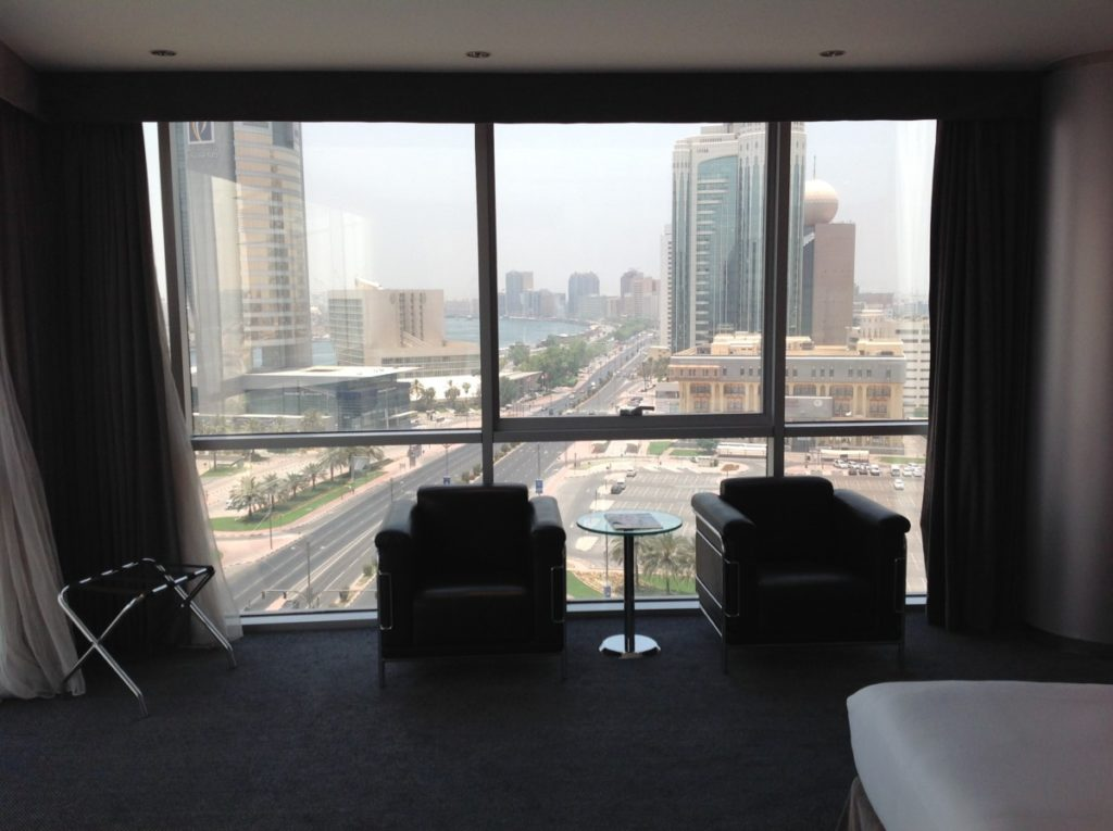Corner Room, Hilton, Dubai, Uitzicht, Upgrade, Diamond