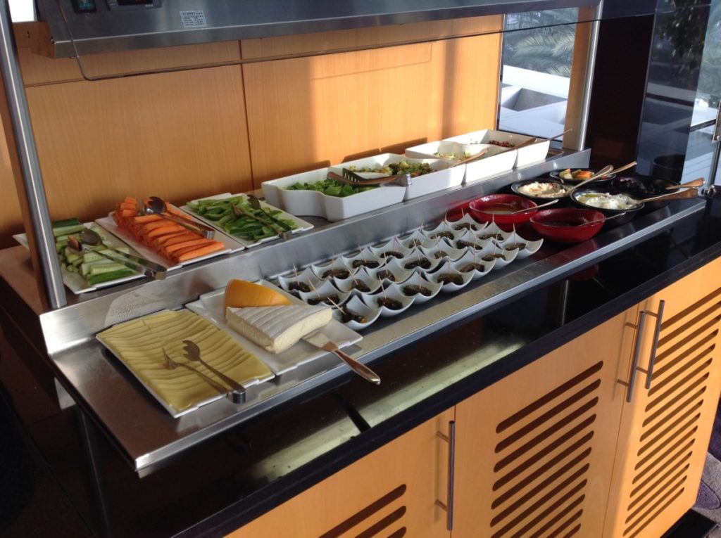 Kaas, Sushi, Hilton Dubai Creek, Hotel review, Executive Lounge