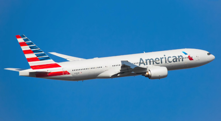 American Airlines, Oneworld, Schiphol, Boeing 777-200, Dallas/Fort Worth