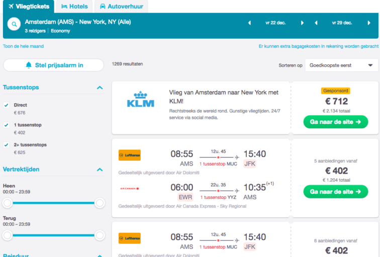 skyscanner guide beste deal