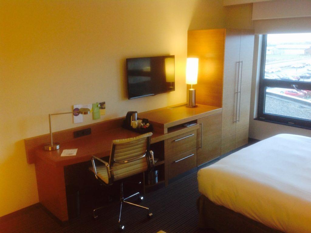 Bureau, televisie, Hyatt Place, Hotel