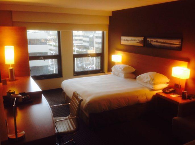 Kingsize bed, Hyatt, Hotel, Amsterdam