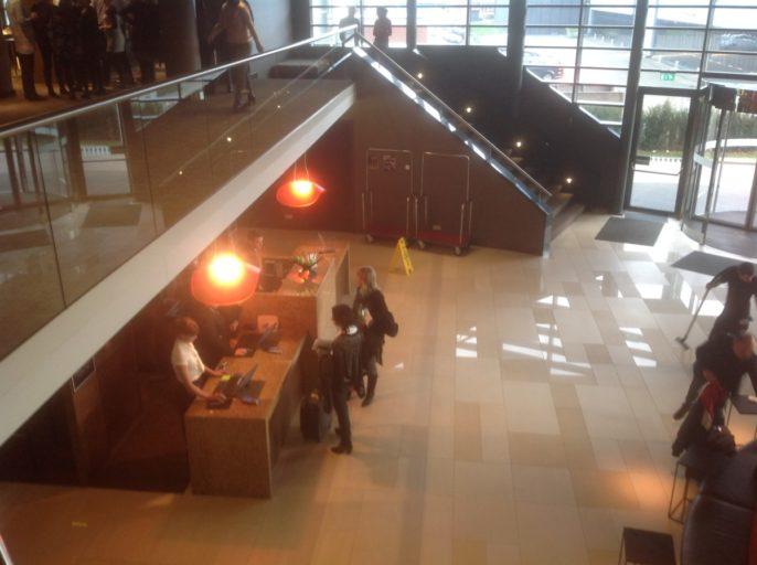 Receptie, Hyatt, Hotel, Amsterdam Airport