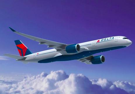 Delta, 747-400. Boeing 747, Detroit, Amsterdam