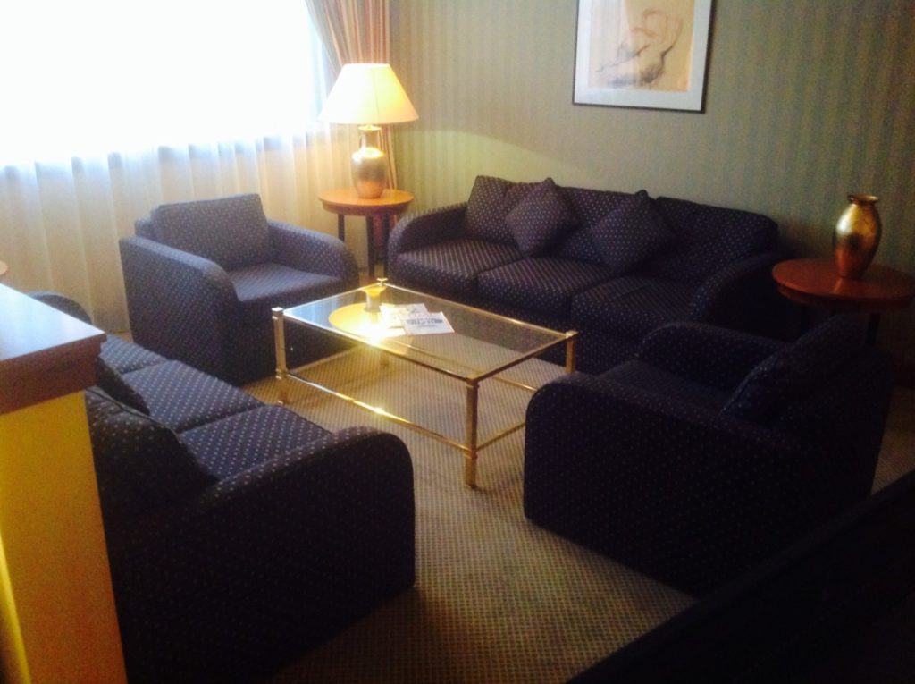 Hilton, Straatsburg, Suite, Sofa