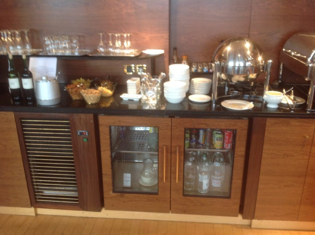 Executive Lounge, Hilton, Straatsburg, Upgrade