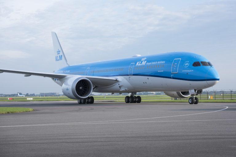 Boeing 787 Dreamliner van KLM (Bron: KLMO